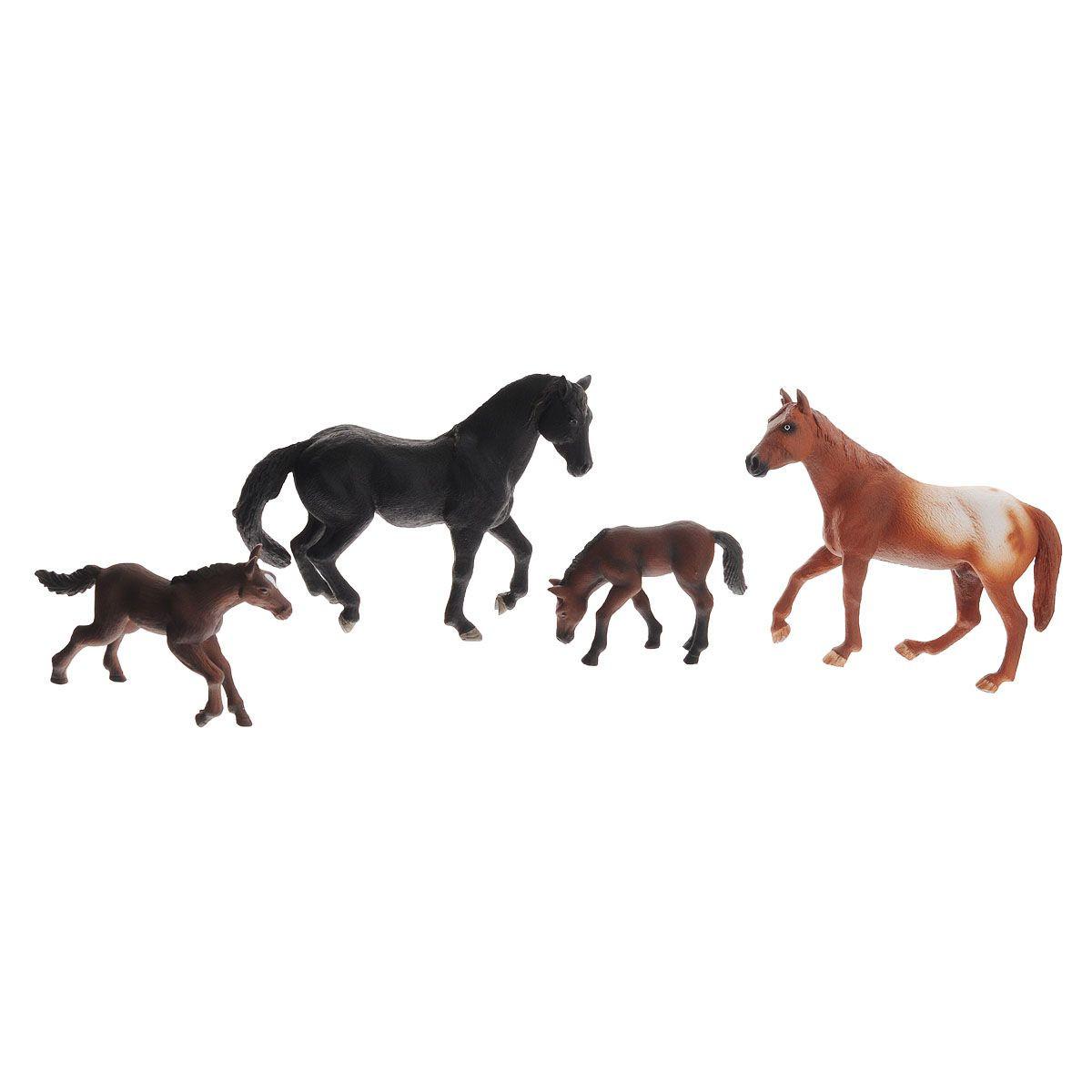 Набор Animal Planet – Лошади, 4 штуки - Фигурки животных, артикул: 162528
