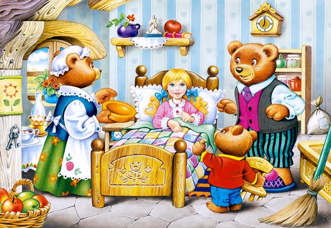 Купить Пазл Три медведя, 260 элементов, Castorland