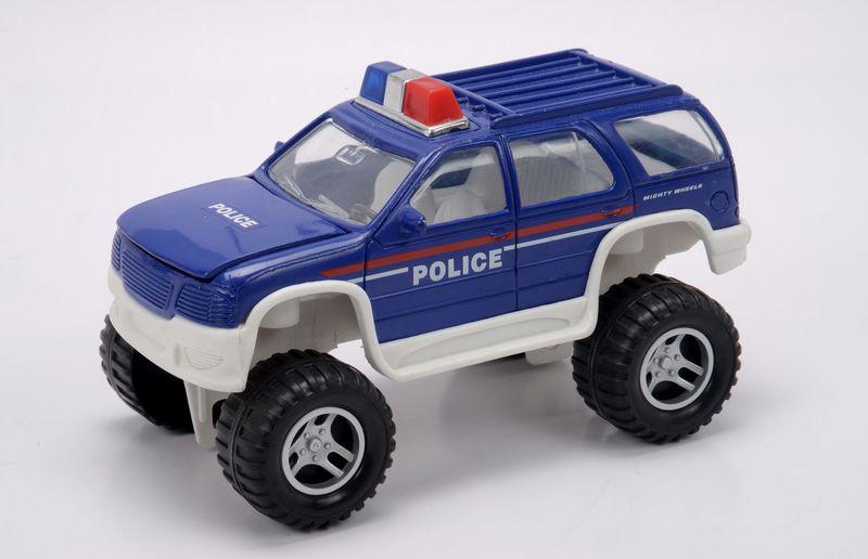 Полицейский внедорожник, 18 см.Полицейские машины<br>Полицейский внедорожник, 18 см.<br>