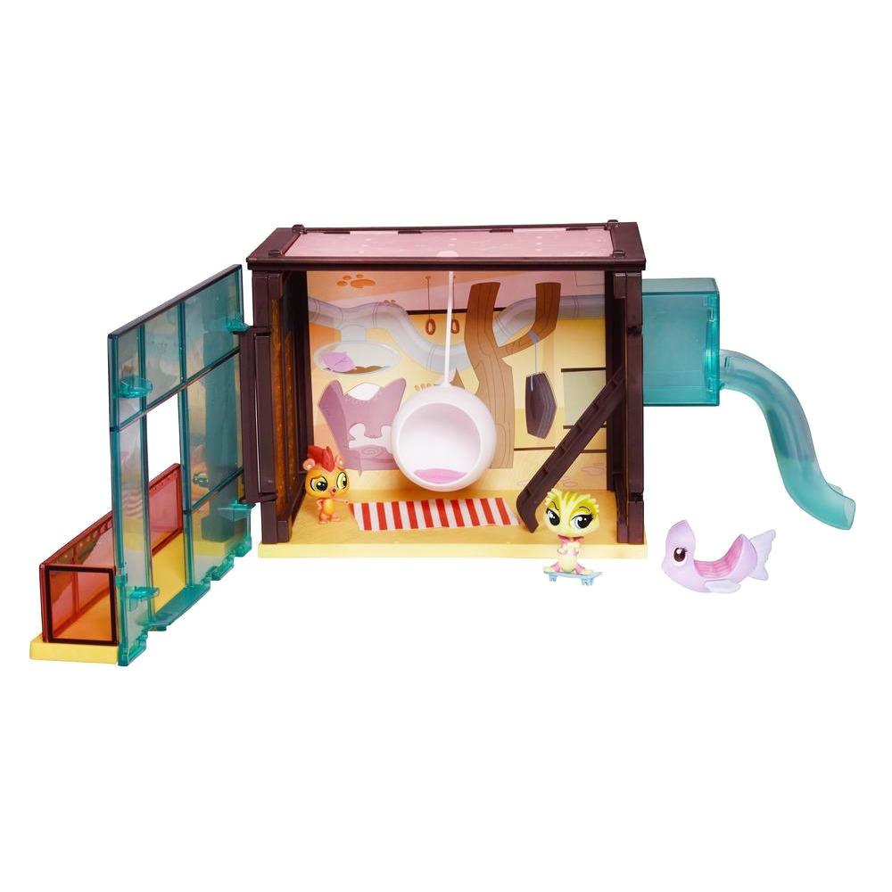 Набор игровой  Стильный летний лагерь, Pet Shop - Littlest Pet Shop – Маленький зоомагазин, артикул: 110075