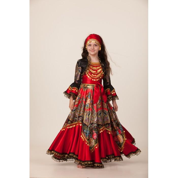 Костюм карнавальный для девочек – Цыганка Сэра, размер 140-72 фото
