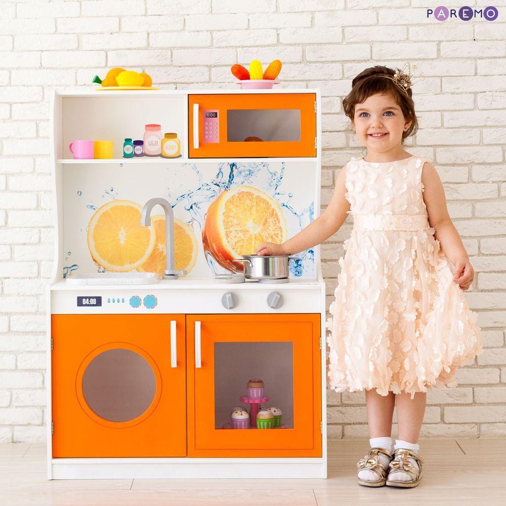Купить Игрушечная кухня - Фиори Аранцио Мини, Paremo