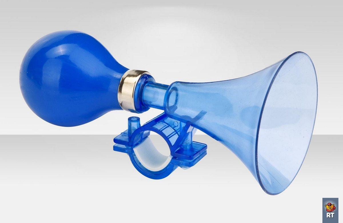 Купить со скидкой Клаксон 71DH DH-03, цвет синий/глянцевый
