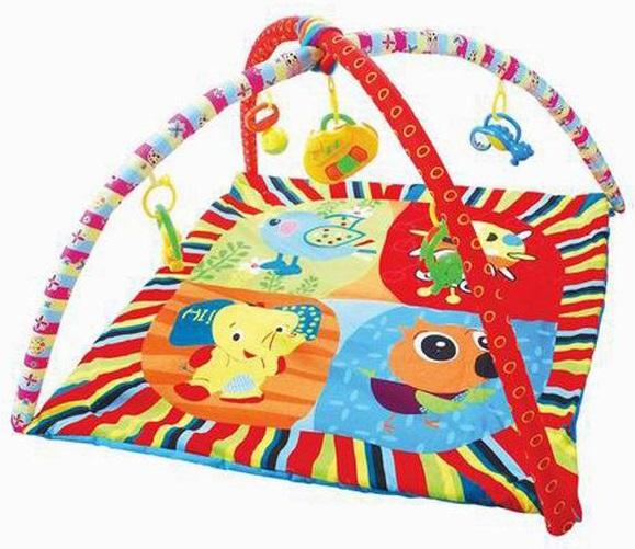 Детский игровой коврик с погремушками на подвеске от Toyway
