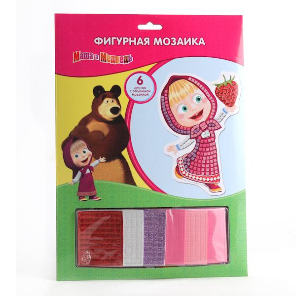 Фигурная мозаика Маша и медведьМаша и медведь игрушки<br>Фигурная мозаика Маша и медведь<br>