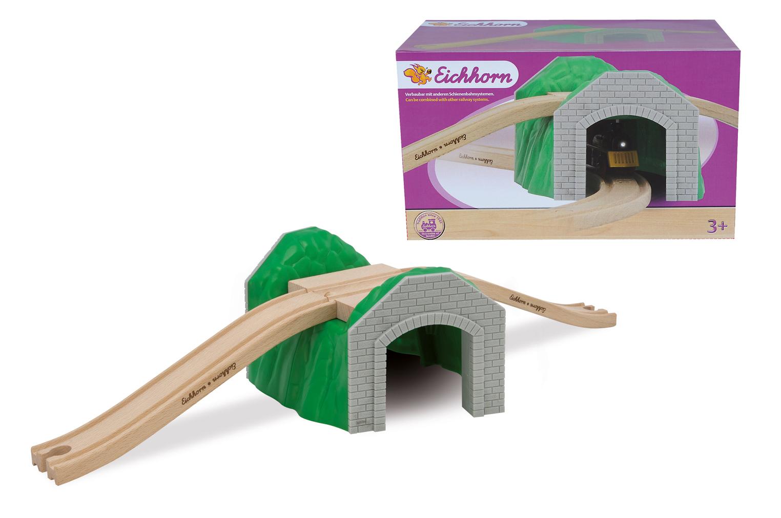 Игровой набор ТунельЖелезная дорога для малышей<br>Игровой набор Тунель<br>