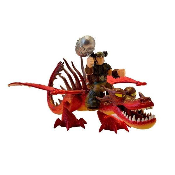 Игровой набор - Дракон и всадник – Сморкала и Кривоклык, серия DragonsКак приручить Дракона<br>Игровой набор - Дракон и всадник – Сморкала и Кривоклык, серия Dragons<br>