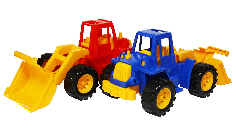 """Трактор """"Ангара"""" с грейдером от Toyway"""