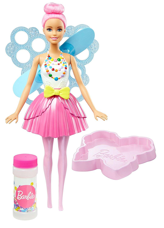Игрушка Barbie - Феи с волшебными пузырьками. СтильнаяМыльные пузыри<br>Игрушка Barbie - Феи с волшебными пузырьками. Стильная<br>