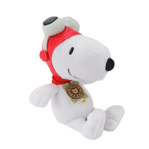 Озвученная мягкая игрушка - Снупи, 23 смГоворящие игрушки<br>Озвученная мягкая игрушка - Снупи, 23 см<br>
