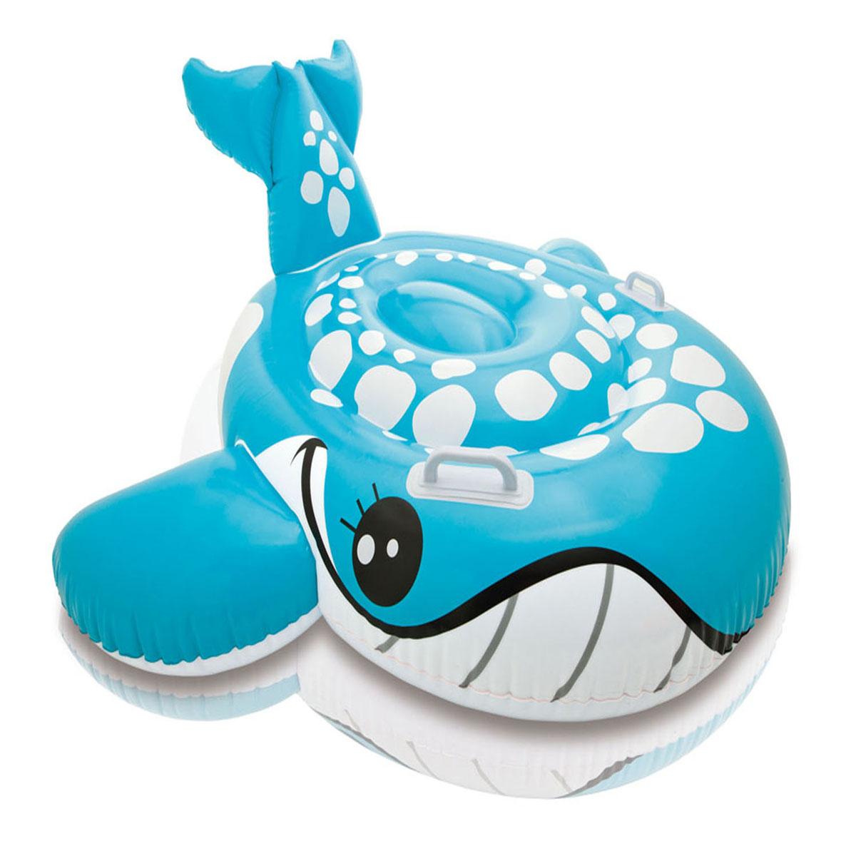 Надувной кит для плавания