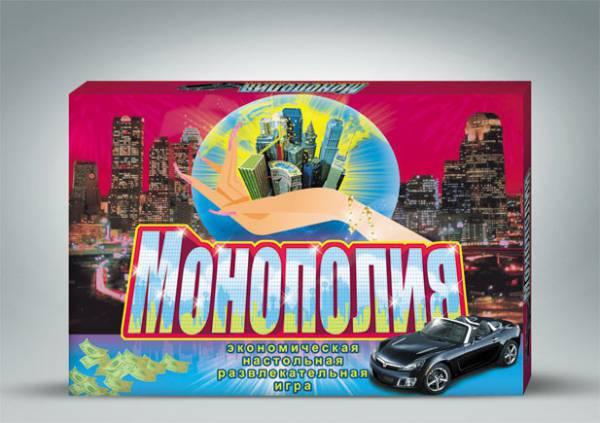 Настольная игра - Монополия большаяМонополия<br>Настольная игра - Монополия большая<br>