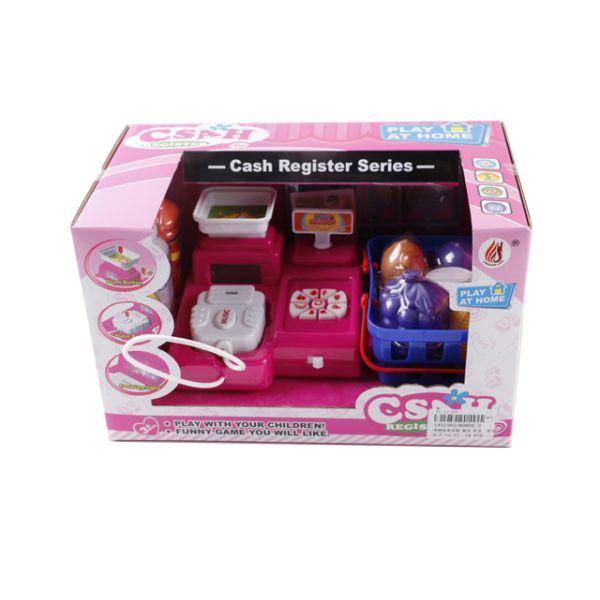 Кассовый аппарат с аксессуарами, со светом и звукомДетская игрушка Касса. Магазин. Супермаркет<br>Кассовый аппарат с аксессуарами, со светом и звуком<br>