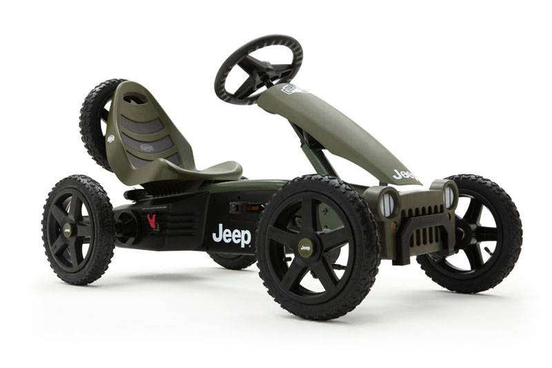 Веломобиль  Jeep Adventure BFR К - Веломобили BERG, артикул: 161382