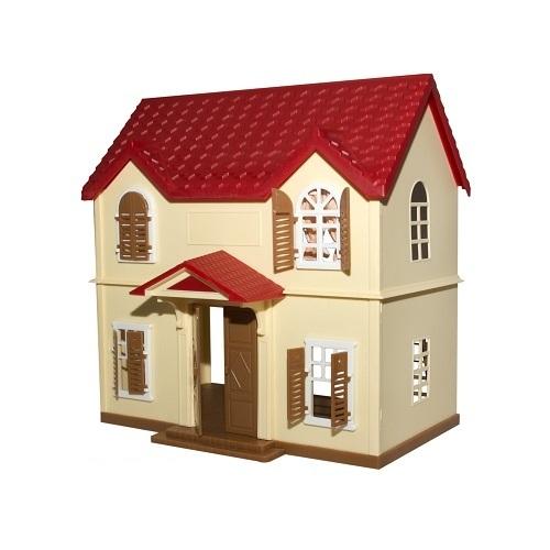Village Story. Игрушечный домик с красной крышейVillage Story<br>Village Story. Игрушечный домик с красной крышей<br>