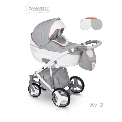 Детская коляска Camarelo Avenger Lux 2 в 1, цвет - Av_02Детские коляски 2 в 1<br>Детская коляска Camarelo Avenger Lux 2 в 1, цвет - Av_02<br>