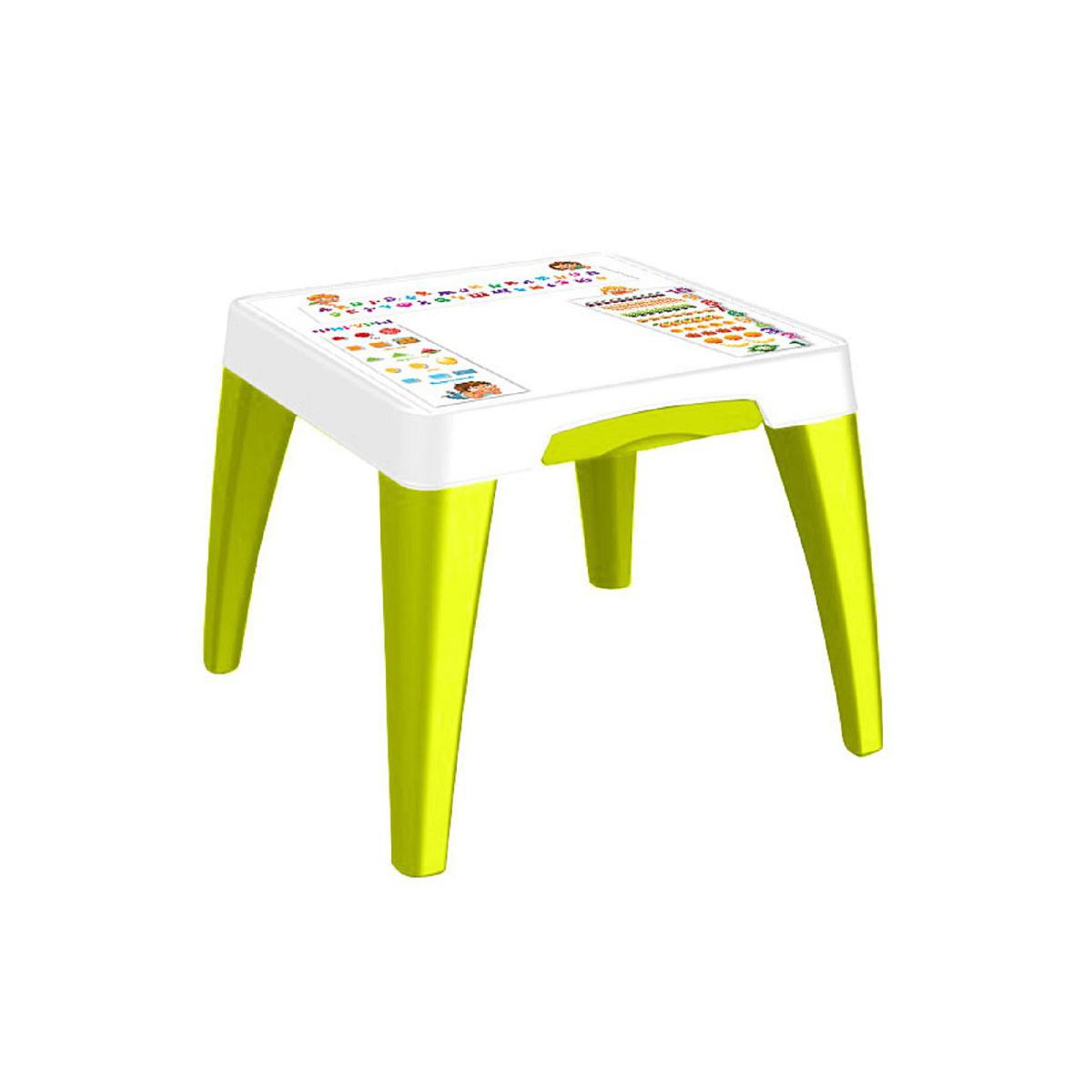 Детский стол - Я расту - Обучайка, салатовыйИгровые столы и стулья<br>Детский стол - Я расту - Обучайка, салатовый<br>