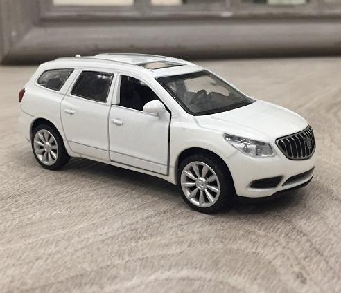 Металлическая инерционная машина - Buick Enclave, 1:43Коллекционные модели машин Welly<br>Металлическая инерционная машина - Buick Enclave, 1:43<br>