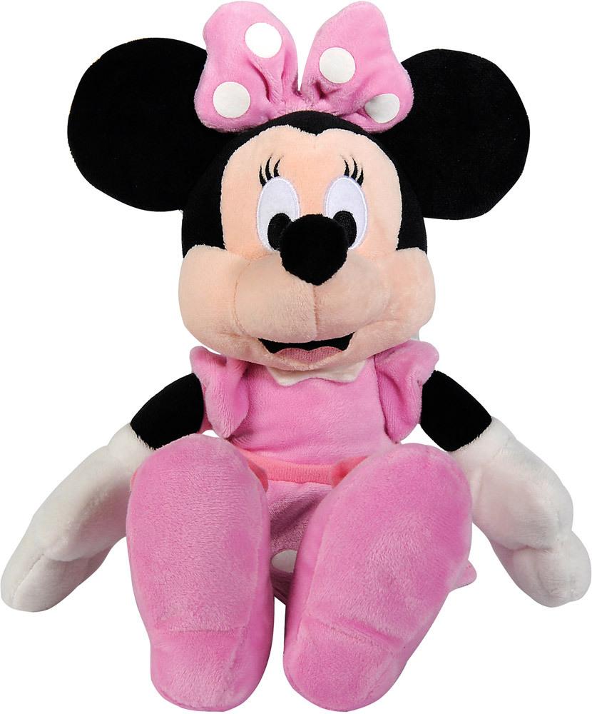 Мягкая игрушка - Минни Маус, 25 см.Мягкие игрушки Disney<br>Мягкая игрушка - Минни Маус, 25 см.<br>