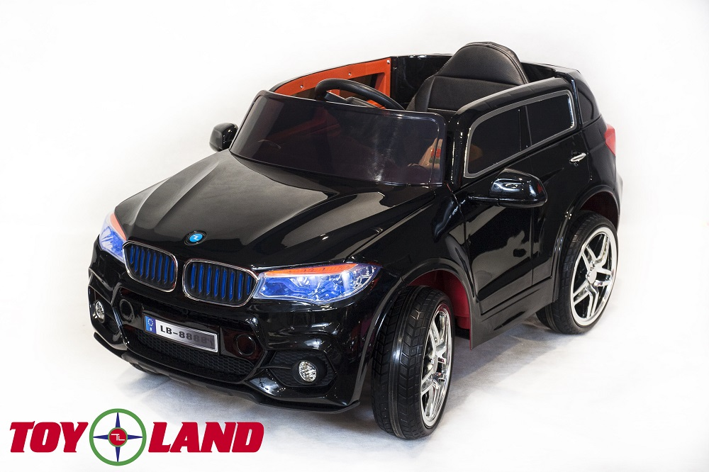 Электромобиль BMW X5 черного цвета