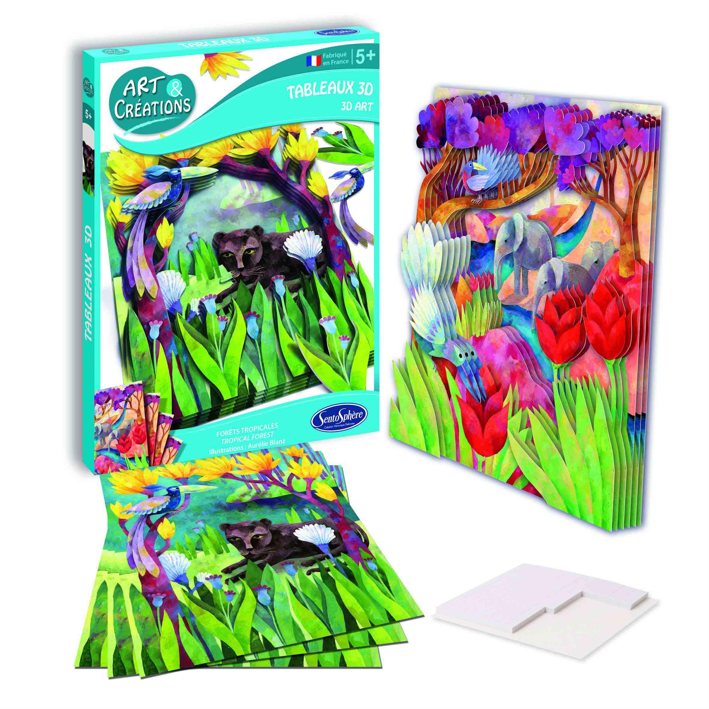 Купить Набор для детского творчества – Лес Азии, SentoSpherE