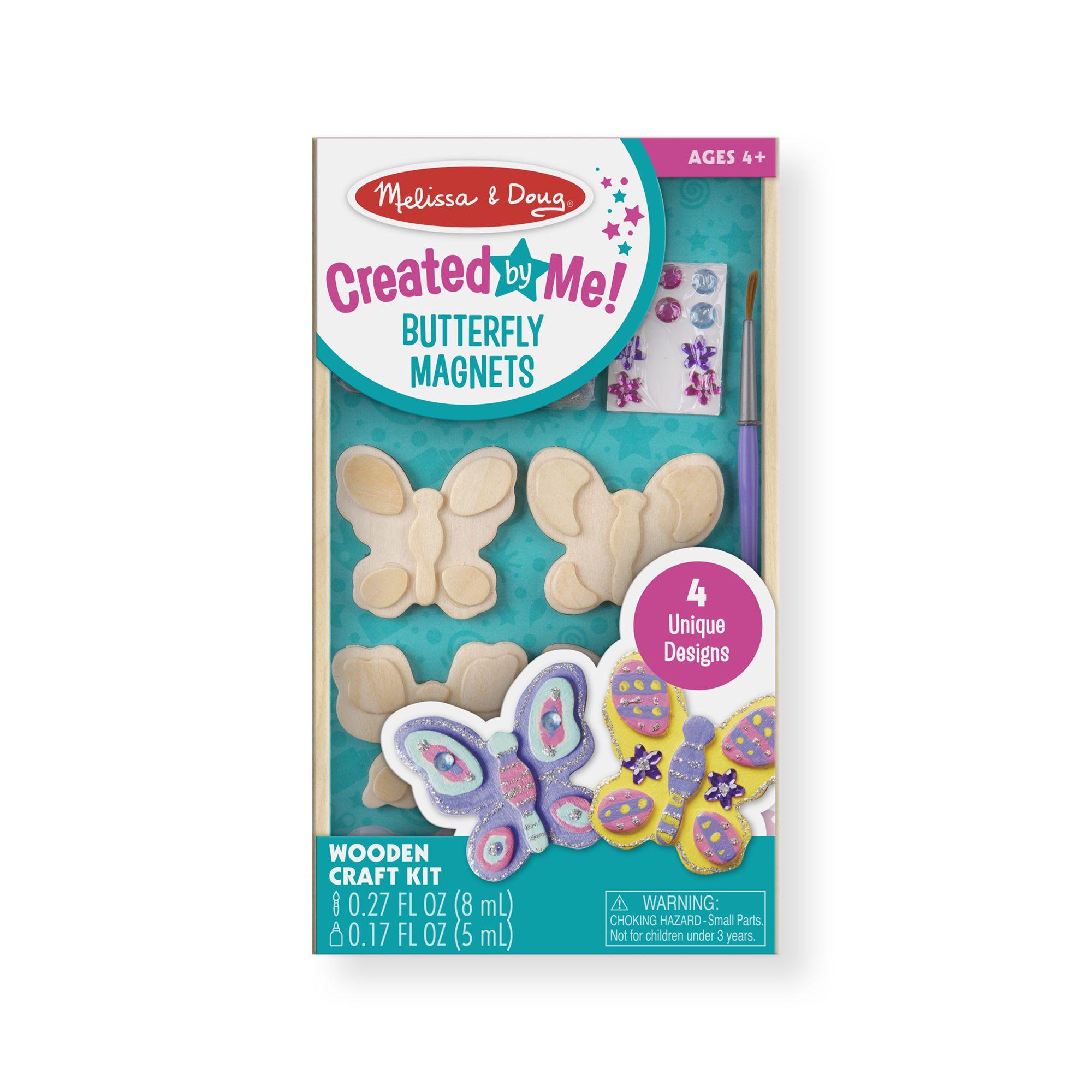 Набор для раскрашивания магнитов – Бабочки Melissa&Doug