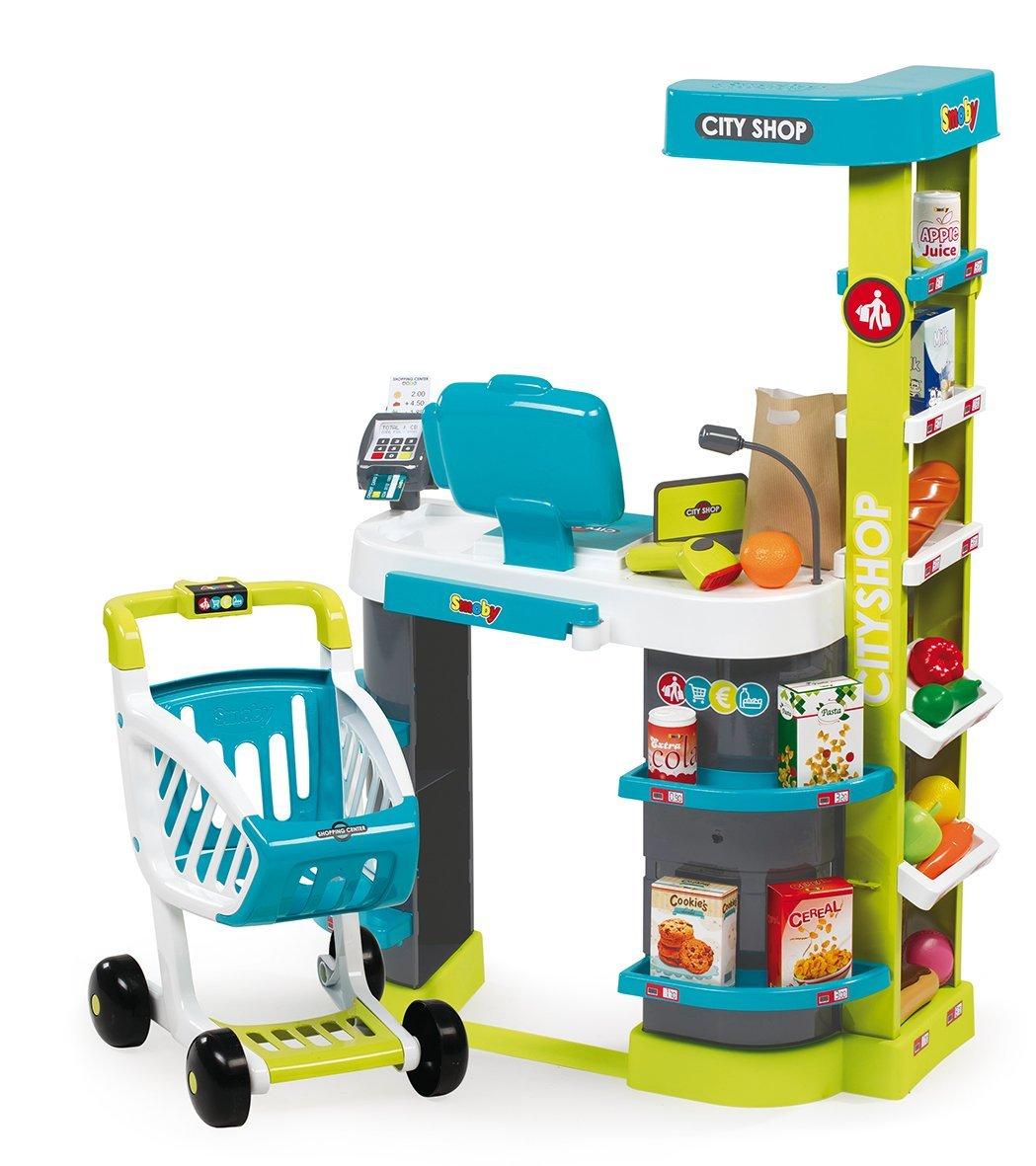 Супермаркет игровой City Shop, со световыми и звуковыми эффектамиДетская игрушка Касса. Магазин. Супермаркет<br>Супермаркет игровой City Shop, со световыми и звуковыми эффектами<br>