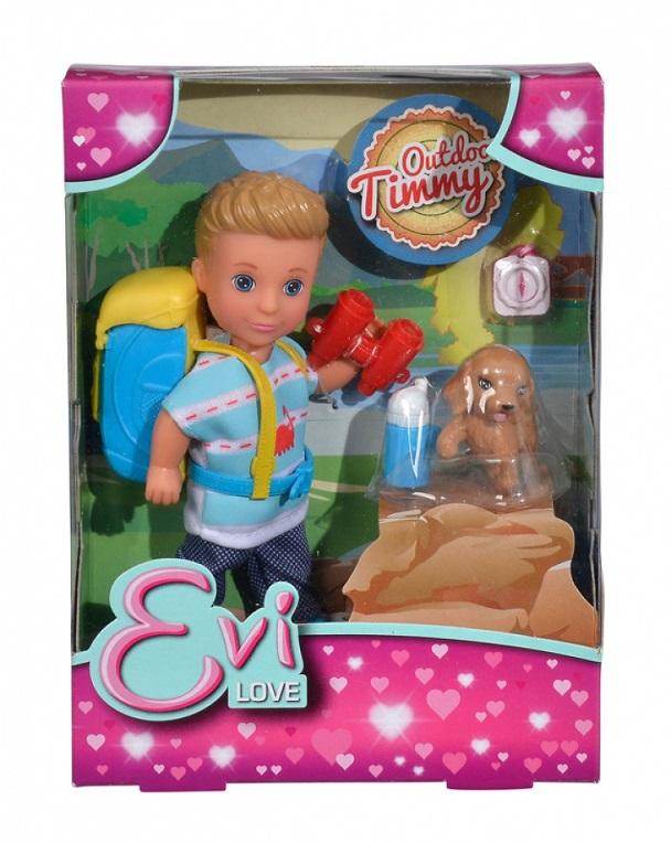 Купить Кукла Тимми с набором Поход, 12 см., Simba