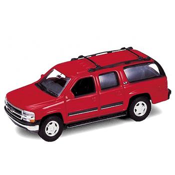 Коллекционная машинка Chevrolet Suburban 2001, масштаб 1:34