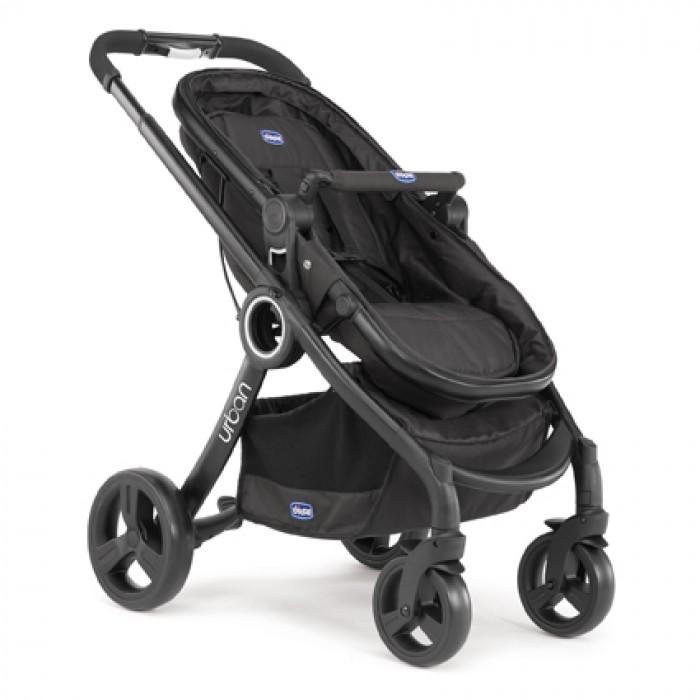 Коляска Urban Plus Black без аксессуаровДетские коляски Capella Jetem, Baby Care<br>Коляска Urban Plus Black без аксессуаров<br>