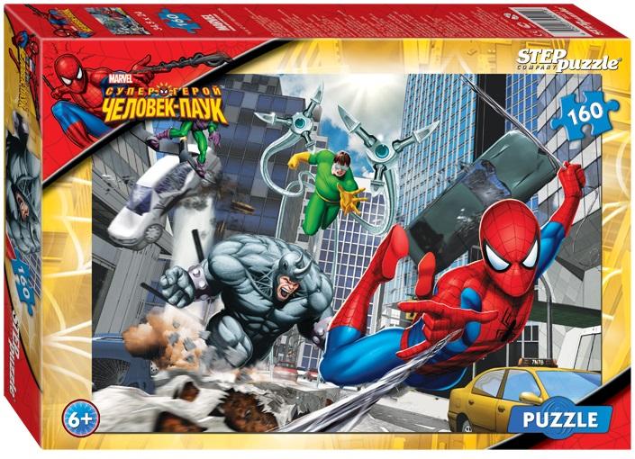 Пазл Marvel Человек-Паук, 160 элементовПазлы 100+ элементов<br>Пазл Marvel Человек-Паук, 160 элементов<br>