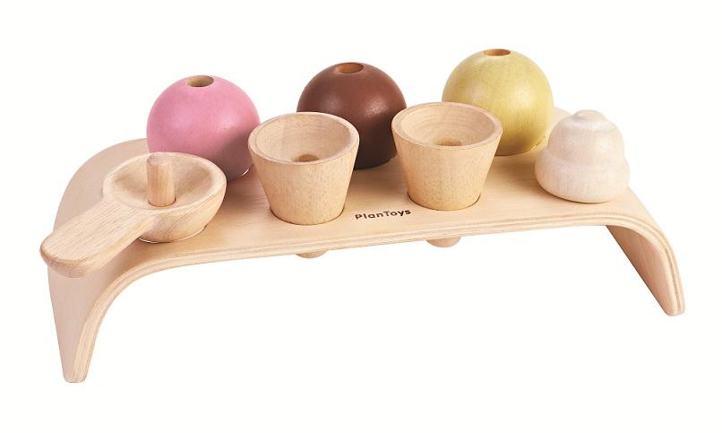 Игровой набор деревянный – Мороженое фото