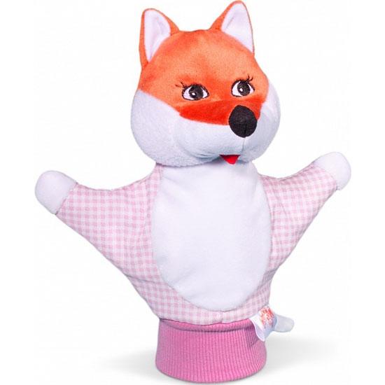 Игрушка-рукавичка ЛисичкаДетский кукольный театр <br>Игрушка-рукавичка Лисичка<br>