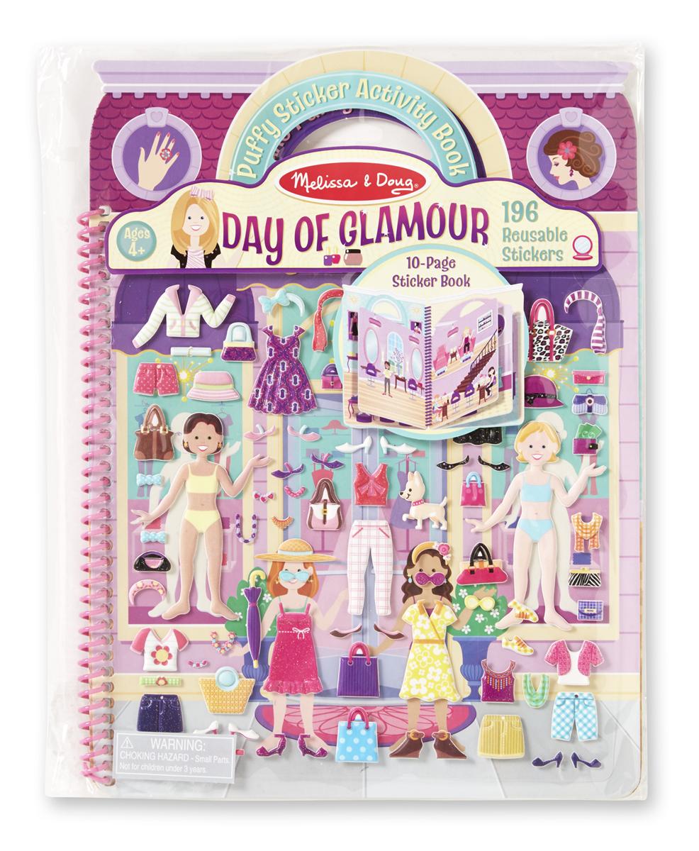 Набор делюкс со стикерами «День гламура» - Детский Досуг, артикул: 138589