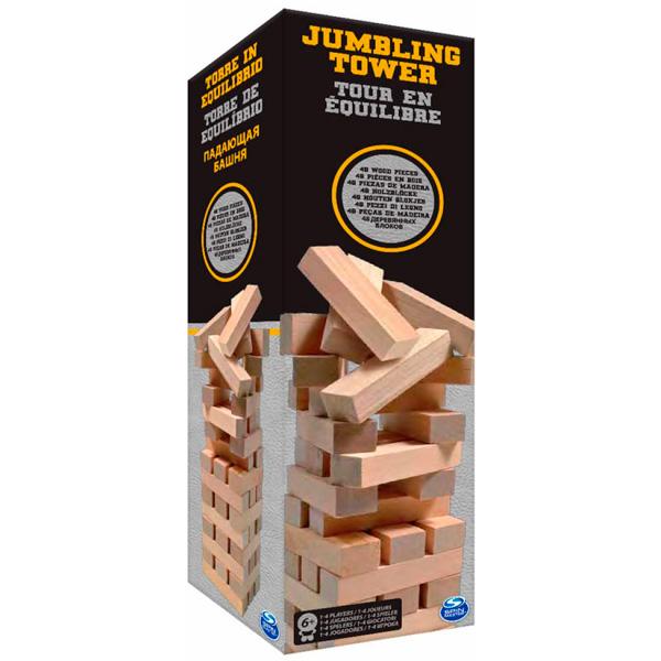 Настольная игра  Падающая башня, в жестяной коробке - Дженга, артикул: 162061