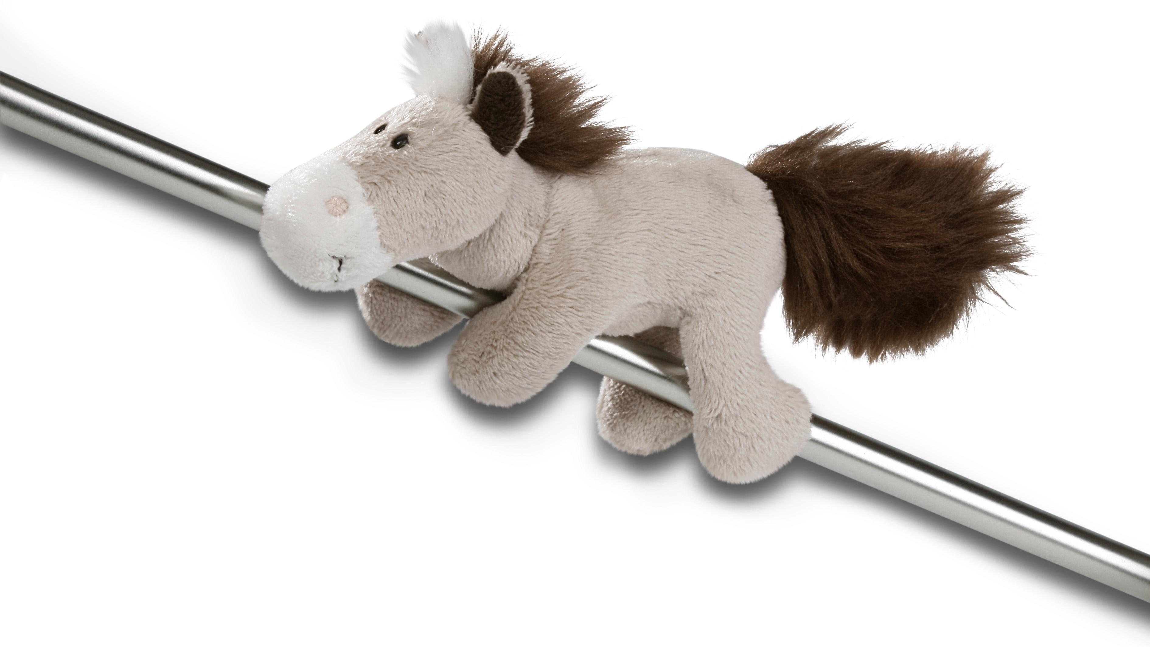 Магнит Лошадь серо-бежевая, 12 смРостометры, брелоки и др. игрушки<br>Магнит Лошадь серо-бежевая, 12 см<br>