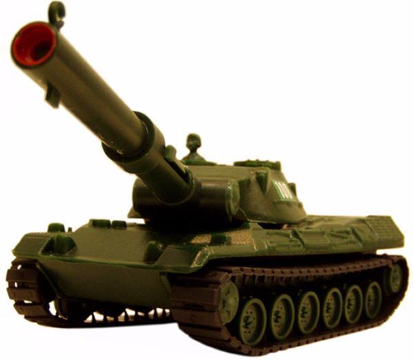 Гусеничный танк с пневмопушкойВоенная техника<br><br>