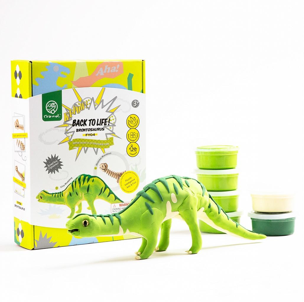 Конструктор, лепка - Бронтозавр