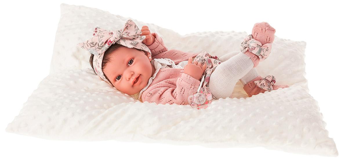 Купить Кукла-младенец – Беатриц в розовом, 42 см, Antonio Juan Munecas