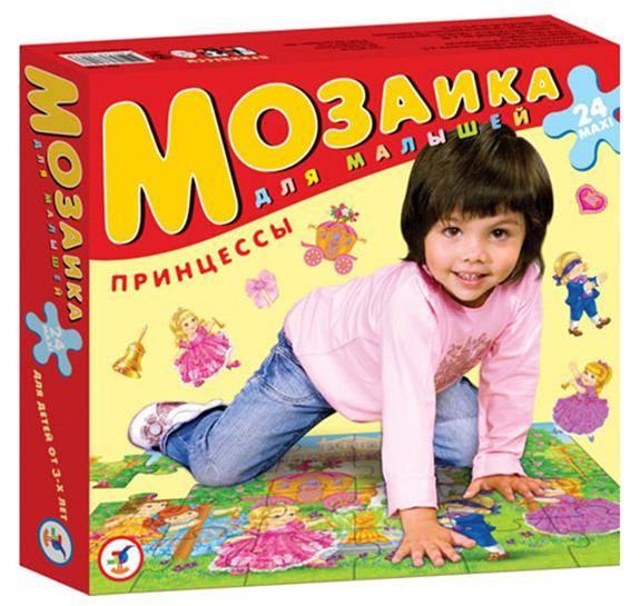 Напольная мозаика для малышей. ПринцессыПазлы для малышей<br>Напольная мозаика для малышей. Принцессы<br>