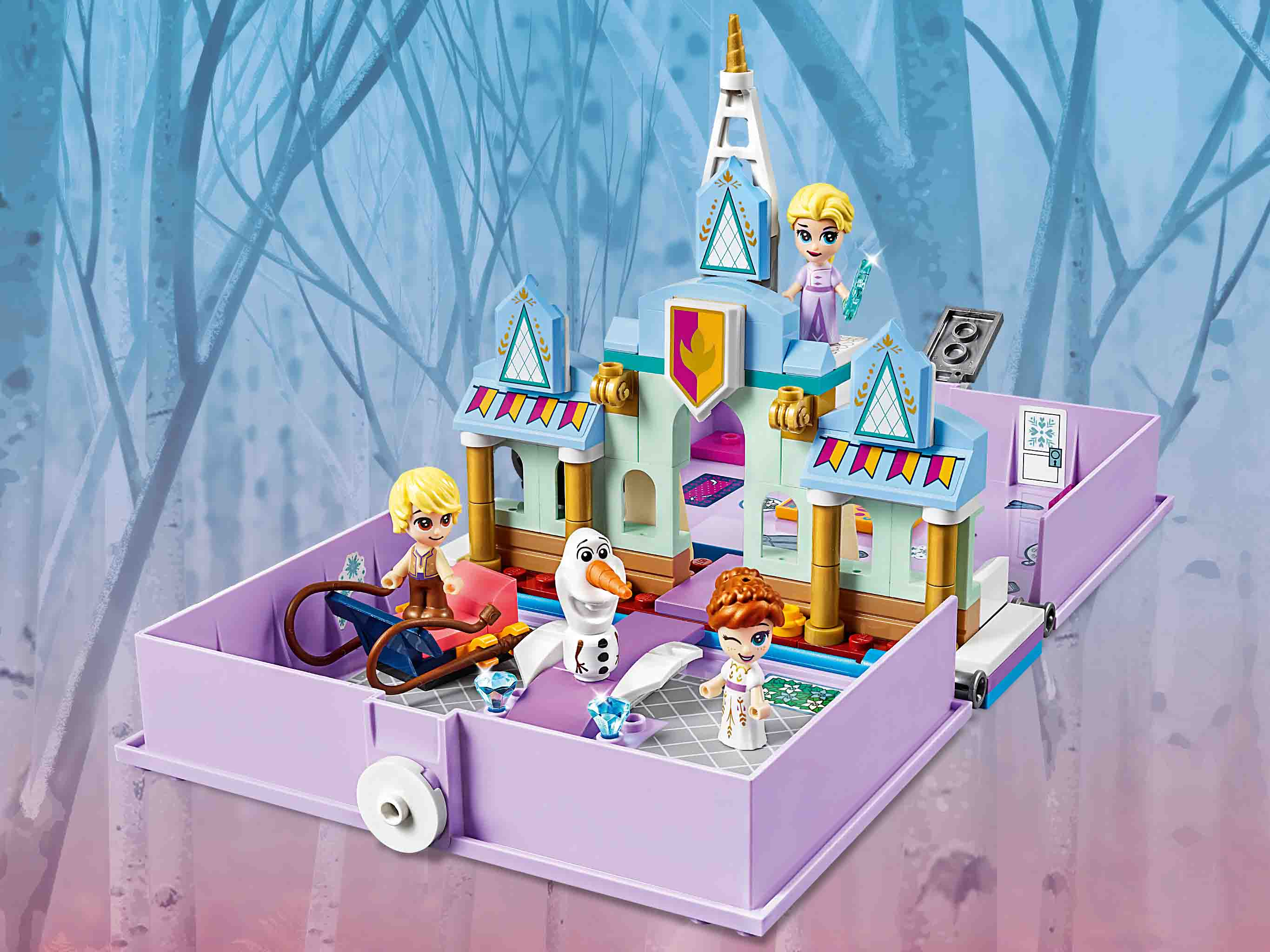 Конструктор Lego Disney Princess - Книга сказочных приключений Анны и Эльзы