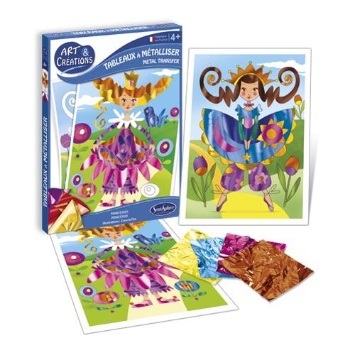Купить Набор для детского творчества Art and Creation - Принцессы, SentoSpherE