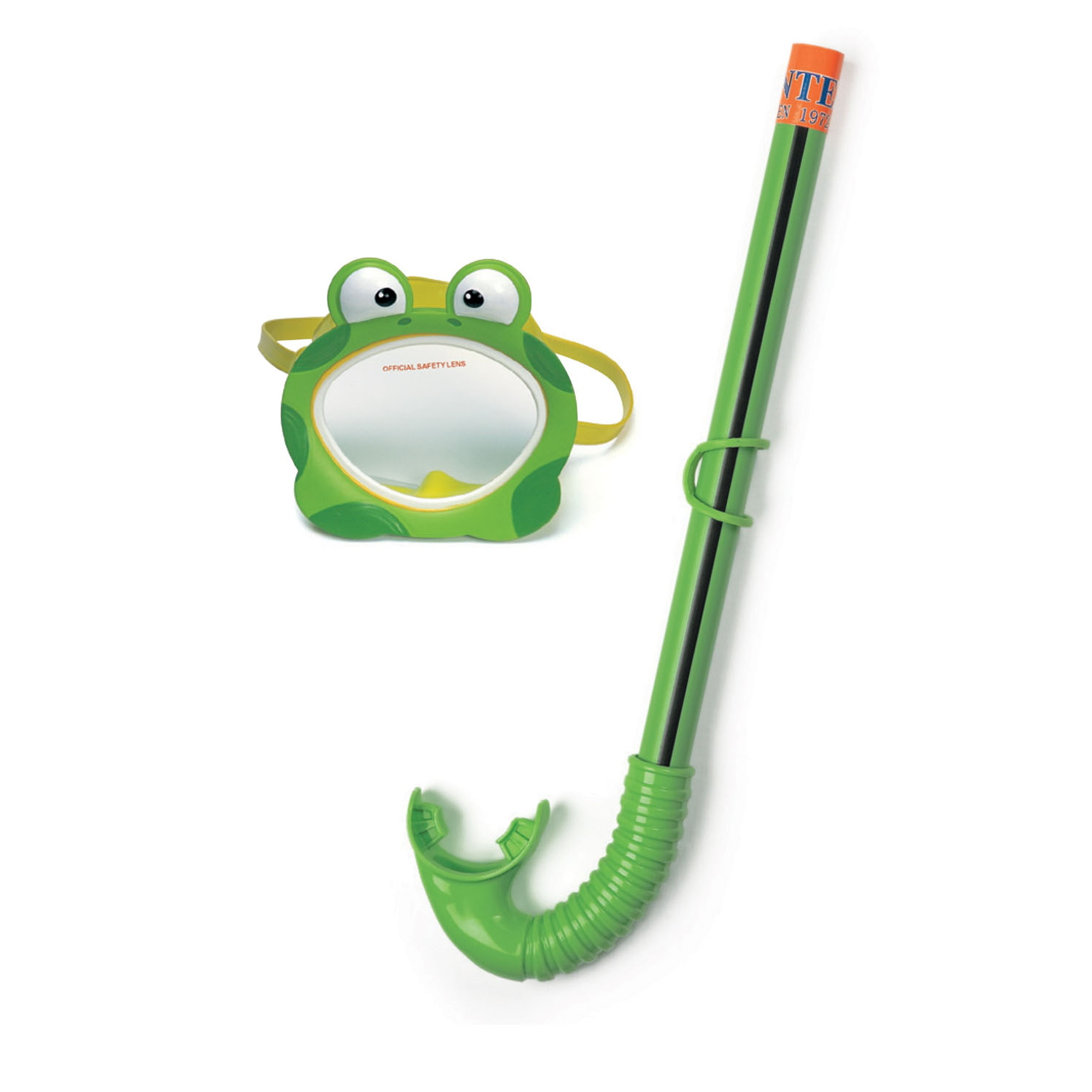 Маска и трубка для плаванья - Froggy Fun - ЛягушкаМаски, ласты, трубки для плавания<br>Маска и трубка для плаванья - Froggy Fun - Лягушка<br>