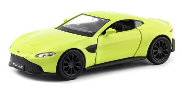 Купить Металлическая машина - Aston Martin Vantage 2018, 1:32, желтый, RMZ City