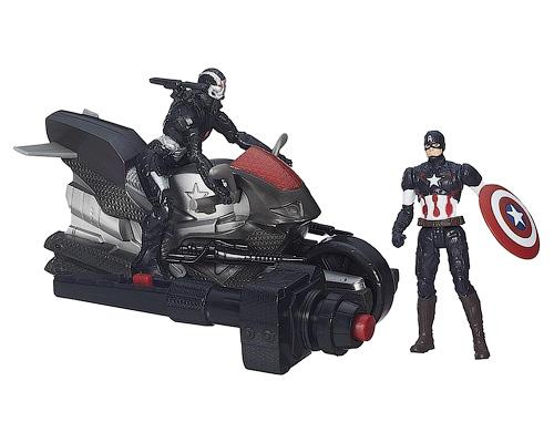 Мини-фигурки Капитан Америка и Воитель. Мстители Эра АльтронаAvengers (Мстители)<br>Мини-фигурки Капитан Америка и Воитель. Мстители Эра Альтрона<br>
