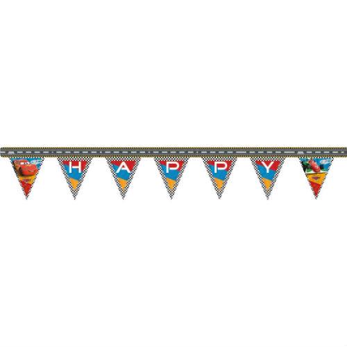 Гирлянда Тачки RSN Happy BirthdayТачки<br>Гирлянда Тачки RSN Happy Birthday<br>
