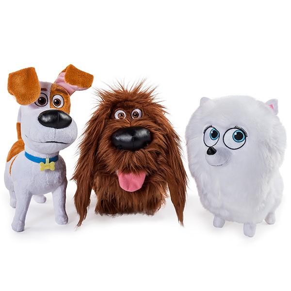 Мягкая игрушка Secret Life of Pets - Тайная жизнь домашних животных, 30 см.Тайная жизнь домашних животных (Secret Life of Pets)<br>Мягкая игрушка Secret Life of Pets - Тайная жизнь домашних животных, 30 см.<br>