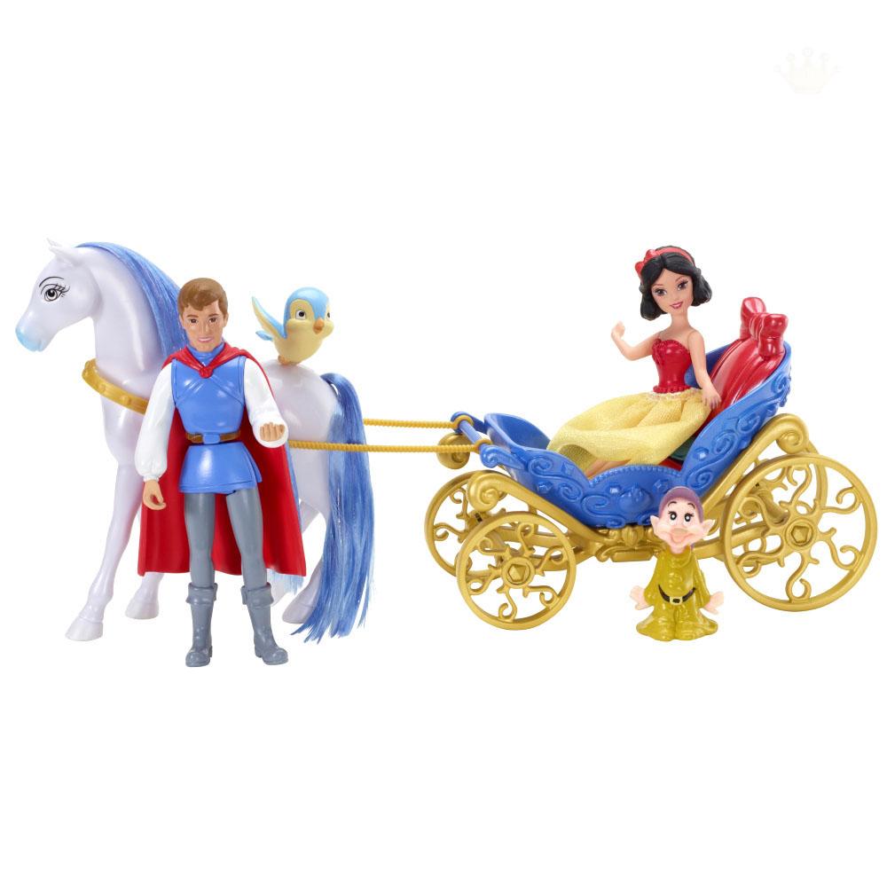 Подарочный набор «Маленькое королевство» с мини-куклой БелоснежкаБелоснежка<br>Подарочный набор «Маленькое королевство» с мини-куклой Белоснежка<br>