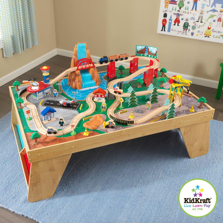 Купить Игровой набор - ЖД станция, стол, KidKraft