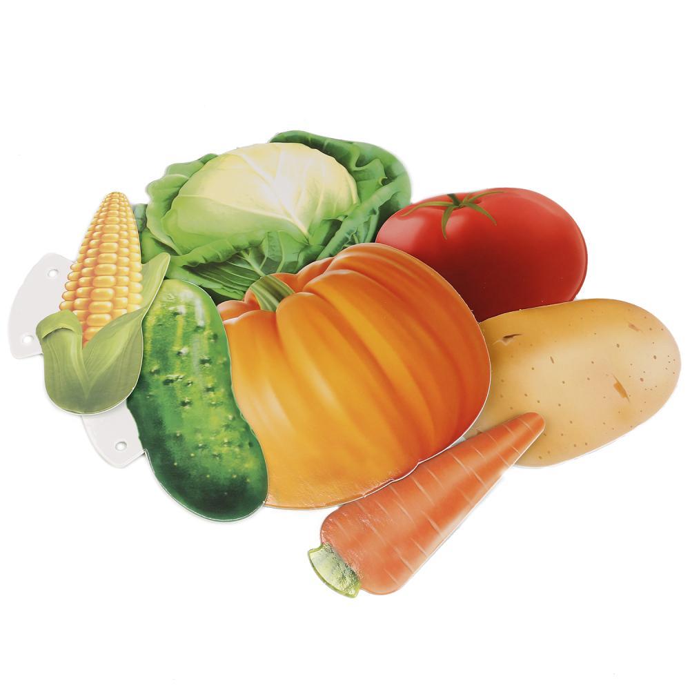 Купить Развивающие карточки на шнурке – Овощи, В. Степанов, Умка